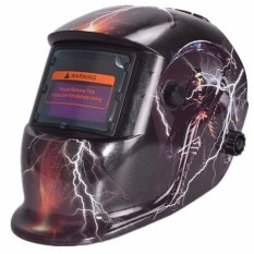 Who Sells Pro Solar Welder Mask Helmet Auto Darkening Welding Skull God Lightning Export Cheap