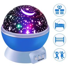 Projection Lamp Moon Night Light Usb Rotating Led Star Sky Projector Lamp Mood Light Decorative Light Baby Nursery Light For 3 Models Lighting Light Intl In Stock