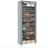 Where Can I Buy Pudding Korean Multi Function Storage Shoe Cabinet Grey Intl