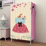 Purchase Pudding Multilayer 3D Panorama Diy Storage Shoe Cabinet Pink Intl