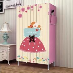 Sale Pudding Multilayer 3D Panorama Diy Storage Shoe Cabinet Pink Intl Oem Online