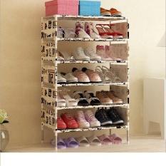 Sale Pudding Multilayer Simple Shoe Rack Storage Cabinet Beige Intl Oem Cheap