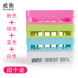 Compare Price Punched Space Wall Seasoning Material Rack Shelf On China