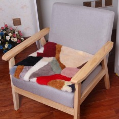 New Computer Fur One Pure Wool Sheep Plush Chair Pad
