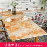 Compare Pvc Soft Glass Imitation Marble Plastic Mat Thick Tablecloth