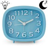 Q Shop Alarm Clock 3 Quartz Analog Alarm Clock With Night Light Ultra Small Silent With No Ticking Intl Best Price
