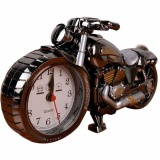 Price Q Shop Alarm Desk Clock Creative Artistic Motorbike Desk Clock Model For Household Shelf Decorationsluxury Retro Unique Kichen Shelf Alarm Clock Intl Oem China