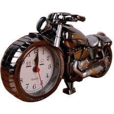 Compare Price Q Shop Alarm Desk Clock Creative Artistic Motorbike Desk Clock Model For Household Shelf Decorationsluxury Retro Unique Kichen Shelf Alarm Clock Intl On China