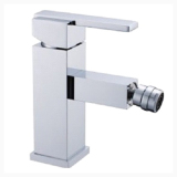 Best Price Q0103Bd High Quality Brass Bathroom Basin Bidet Faucet Cold And Hot Water Mixer Tap Chromed Silver