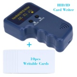 Buy Qbyyy Handheld 125Khz Rfid Hid Id Card Writer Copier Duplicator 10Pcs Writable T5577 Cards Intl On China