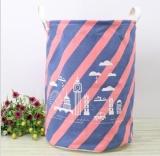 List Price Qizhef 2 X Pcs Zakka Fashion Fabric Folding Waterproof Toy Finishing Large Storage Bucket 35 X45 Intl Qizhef