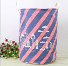 Where Can You Buy Qizhef 2 X Pcs Zakka Fashion Fabric Folding Waterproof Toy Finishing Large Storage Bucket 35 X45 Intl