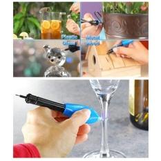 quzhuo 3 Second Fix UV Light Welding Repair Glue Plastic Metal Wodden Glass Kit Super Power Liquid Refill Tool Glue Pen - intl