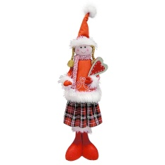 quzhuo Pawaca Christmas Elf on Plush Dolls- Angel Little Red Riding Hood,Girl Boy Christmas Toys Gifts,Red - intl
