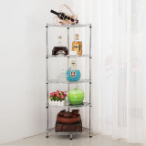 Purchase Wall Role Kitchen Storage Stainless Steel Metal Rack Fan Frame