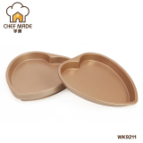 Who Sells Rainbow Gold Does Not Stick Heart Shaped Cake Baking Mold