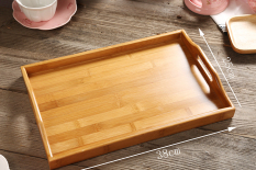 Who Sells Rectangular With Handle Bamboo Tea Tray