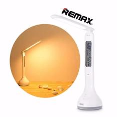Great Deal Remax Led Eye Protection Desk Lamp Bed Light With Calendar Clock Temperature Lcd Display Intl
