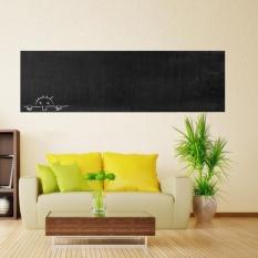 Removable Chalk Board Blackboard Vinyl Wall Sticker Decal Chalkboard 60x200CM  - intl