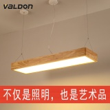 Buy Restaurant Chandelier Wood Strip Light Led Office Of The Living Room Lamp Creative Bar Dining Table Lamp Chandelier Scandinavia Intl Cheap On China