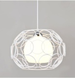 Discount Retro Industrial Simple Metal Ceiling Light Lamp Shade Pendant 320Mm With Bulb Intl