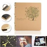 How To Buy Retro Kraft Photo Picture Album Diy Travel Baby Mommy Book Wedding Gift Handmade Intl