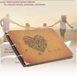 Price Comparison For Retro Scrapbook Photo Albums Notebook Handmade Diy Wedding Love New Year Gift Intl
