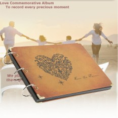 Cheaper Retro Scrapbook Photo Albums Notebook Handmade Diy Wedding Love New Year Gift Intl