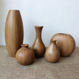 Discount Retro Wooden Flower Arrangement Living Room Flower Arrangement Is Wooden Vase Oem Singapore