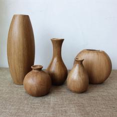 Sales Price Retro Wooden Flower Arrangement Living Room Flower Arrangement Is Wooden Vase