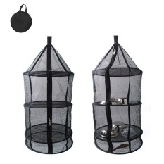 How To Buy Pawaca Reusable Drying Hanging Rack Net 4 Layer Outdoor Round Folding Camping Dry Net Picnic Tableware Fruit And Vegetable Hanging Storage Mesh Basket