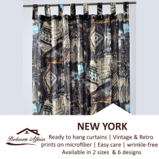Review Rinco Bonington New York Vintage Curtain On Singapore