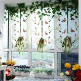 Cheap Romantic Butterfly Embroidered Lift Kitchen Curtain Voile Door Window Curtain Home Decortion Curtains For Living Room Tulle Blackout Curtains Intl