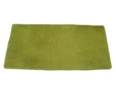 roortour Anti-skid Rug Super Soft Living Room Carpet Fluffy Bedroom Mat, Green - intl