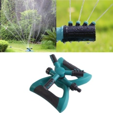 Sale Rotary 3 Arms Garden Watering Sprinkler Multi Use Lawn Irrigation System Intl