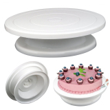 Cheapest Rotating Revolving Cake Decorating Stand Birthday Wedding Cake Turntable Baking Tools Online