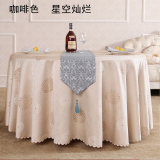Cheap Pastoral European Western Tablecloth Round Tablecloth