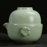 Buy Ru Quik Cup A Pot A Two Cup Ceramic Kung Fu Tea Set Home Portable Travel Tea Cup Cheap China