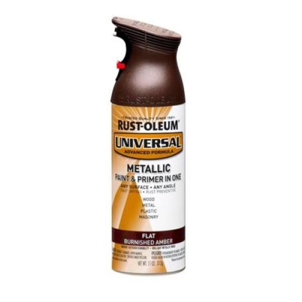 Rust-oleum Universal Spray Flat (Burnished Amber) RustOleum