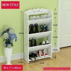 Ruyiyu 40X17X80Cm Amazing Utility Shoes Rack Plastic Wood Shoe Storage Organizer Cabinet Tower Heavy Duty And Easy To Assemble Reviews
