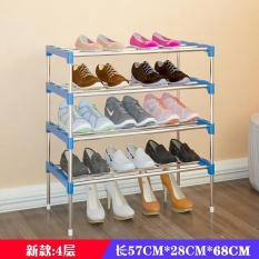 Amazing Utility Shoes Rack, Stainless Steel Shoe Storage Organizer Cabinet Tower, Heavy-Duty and EASY TO ASSEMBLE,4-10 Layer