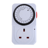 S F 24 Hours Electrical Energy Saving Programmable Timer Plug Switch Socket Uk Not Specified Discount