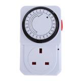 Buy S F 24 Hours Electrical Energy Saving Programmable Timer Plug Switch Socket Uk China