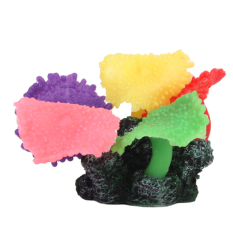 S & F Five Colors Artificial Fake Coral for Fish Tank Decor (EXPORT)