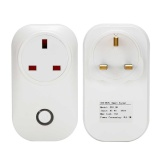 Compare S20 Phone Wifi Wireless Remote Control Switch Smart Power Socket Plug For Sonoff Intl Prices