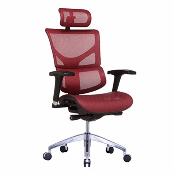 SAIL Basic Ergonomic Office Chair (Red) Singapore