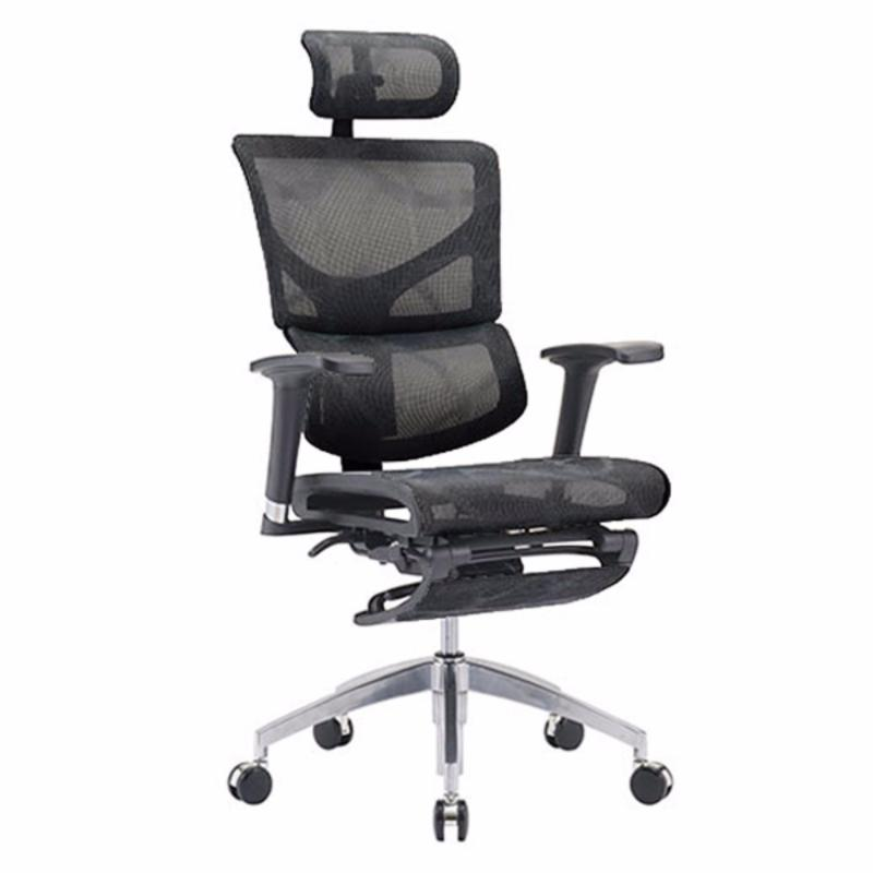 SAIL Basic Office Chair With Legrest (Black) Singapore