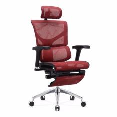 SAIL Basic Office Chair With Legrest (Red) Singapore