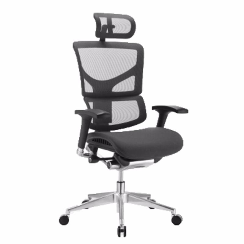 SAIL Luxury Ergonomic Office Chair (Black) Singapore