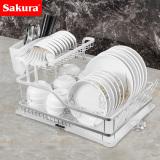 Price Sakura Cupboard Dish Storage Rack Kitchen Shelf Sakura New